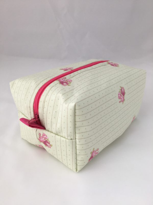 Delicate Pink Zippered Bag