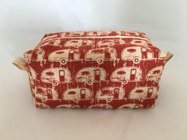 Red Trailer Zippered Bag