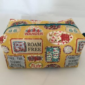 Roam Free Zippered Bag