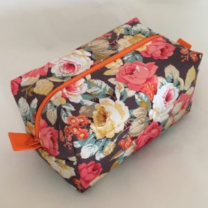 Rose Zippered Bag